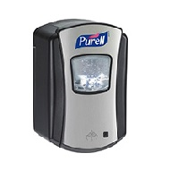 Purell LTX No-Touch dispenser  Chrome/ Zwart 700ml